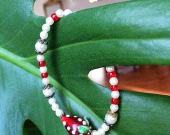 "Bracelet ""Strawberry"""