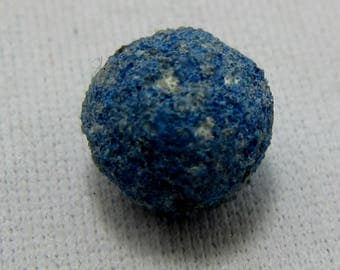 Azurite Concretion, Natural Azurite, Azurite Gemstone, Azurite Sphere, Azurite Orb, Mineral Specimen, Rock Collection, Chakra 11 mm  #55