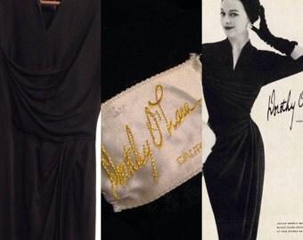"1950s Dorthy O'Hara dress size small 28"" waist"