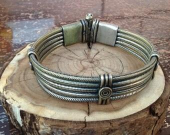 FREE SHIPPING, Vintage Indian handmade bracelet