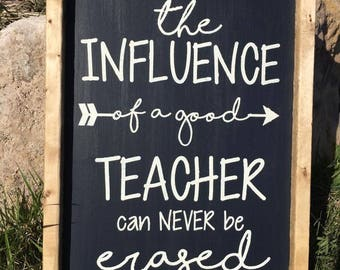 Teacher Appreciation Farmhouse Sign