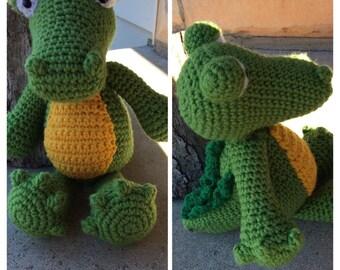 Crocodile, Crochet crocodile, Crocodile Amigurumi, Crochet Amigurumi, Crocodile Amigurumi