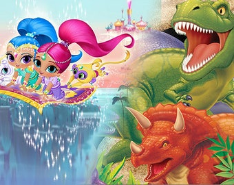 Shimmer and Shine / Dinosaurs