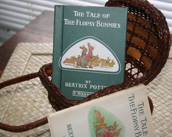 The Tale of The Flopsy Bunnies / Beatrix Potter /1937