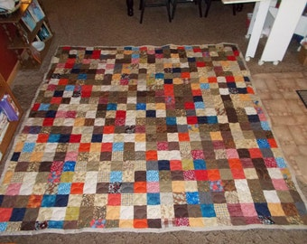 Custom Made Quilt - Patchwork Quilt - Cal. King Size Quilt - EVERYTHING SUPPLIED - 50% DEPOSIT