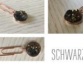 Stardust paper clip (black) for your Midori / Fauxdori / Filofax / Planner