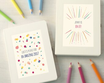 Personalised Motivational Notebook
