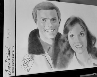 The Carpenters pencil drawing