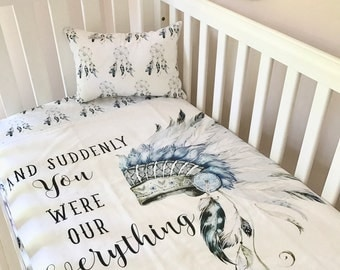 Dream Catcher Baby Bedding Baby Girl Cot Quilt Blanket Dreamcatcher Amazing Things Boho 13