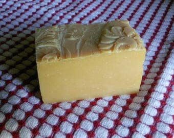Simply Goat Milk Soap large bar VETERAN OWNED Cold Process soap Handmade Soap Made with LOVE Baby your skin with nourishing oils