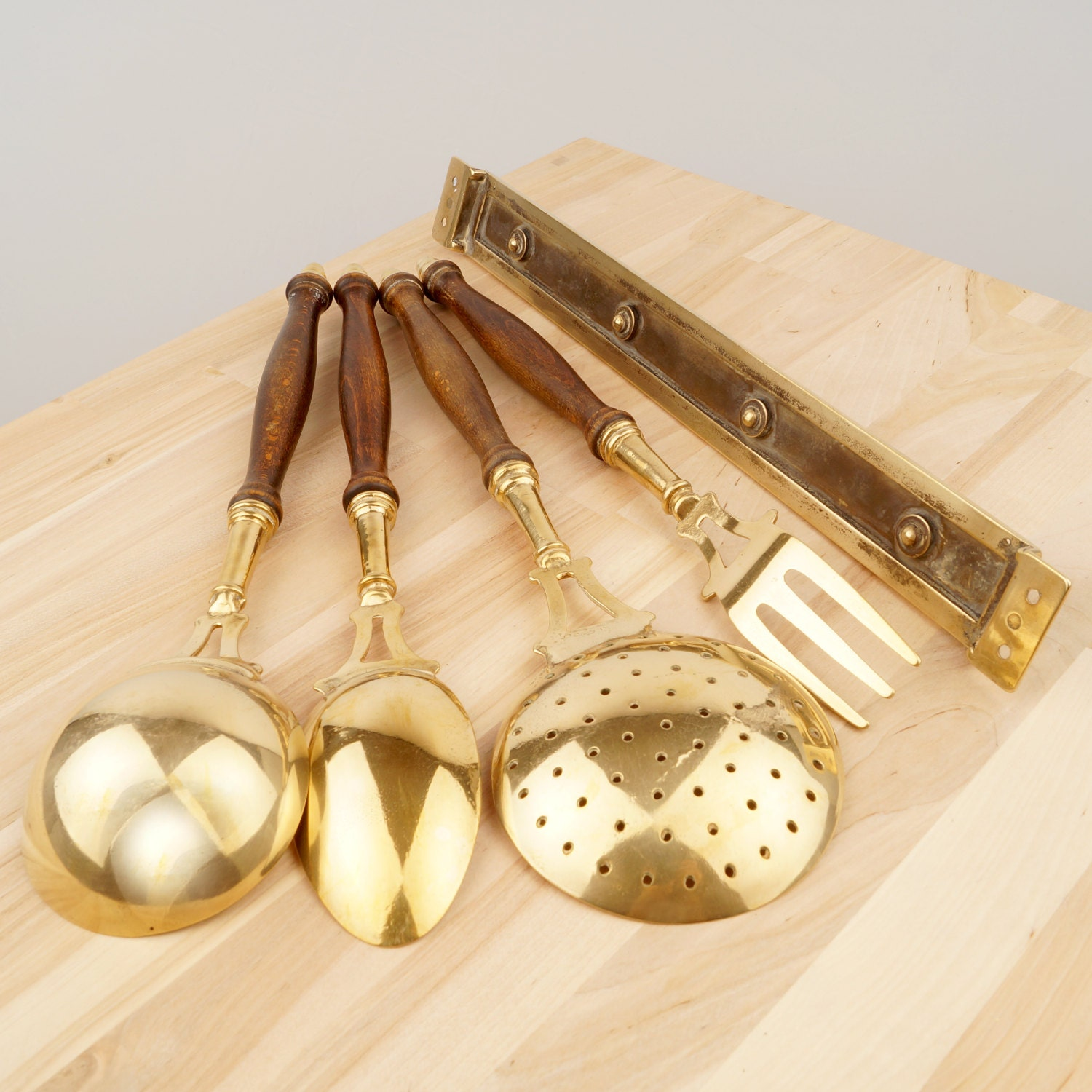 Brass decorative wall hanging set || vintage || wall decoration ...