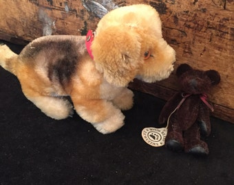 Two Vintage Collectible Toys one has tag Boyds Bears