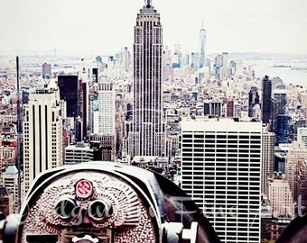Empire State Building Photo, New York City Photo, travel photography, home decor, urban decor, cityscape, architectural photo, NYC photo