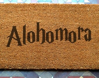 door mat  engraved coir door mat Size: 400 x 600 mm   UK Based