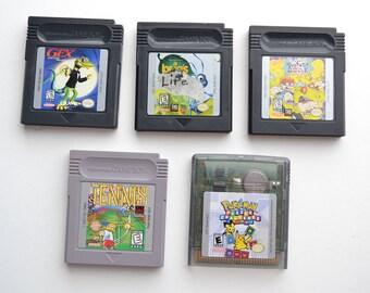 Take Your Pick! Original 5 Nintendo Game Boy Games