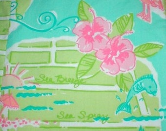 Via Lilly  12 X 20 inches ~Lilly Pulitzer~