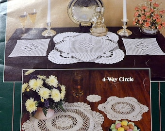 Leisure Arts Leaflet 529 Doilies in All Shapes and Sizes Eunice Svinicki