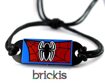 LEGO® friendship bracelet bangle Spider Man