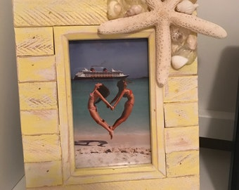 Starfish Beach Themed Picture Frame