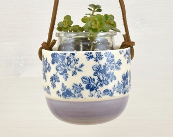 Planter for small pot Riviera - lilac