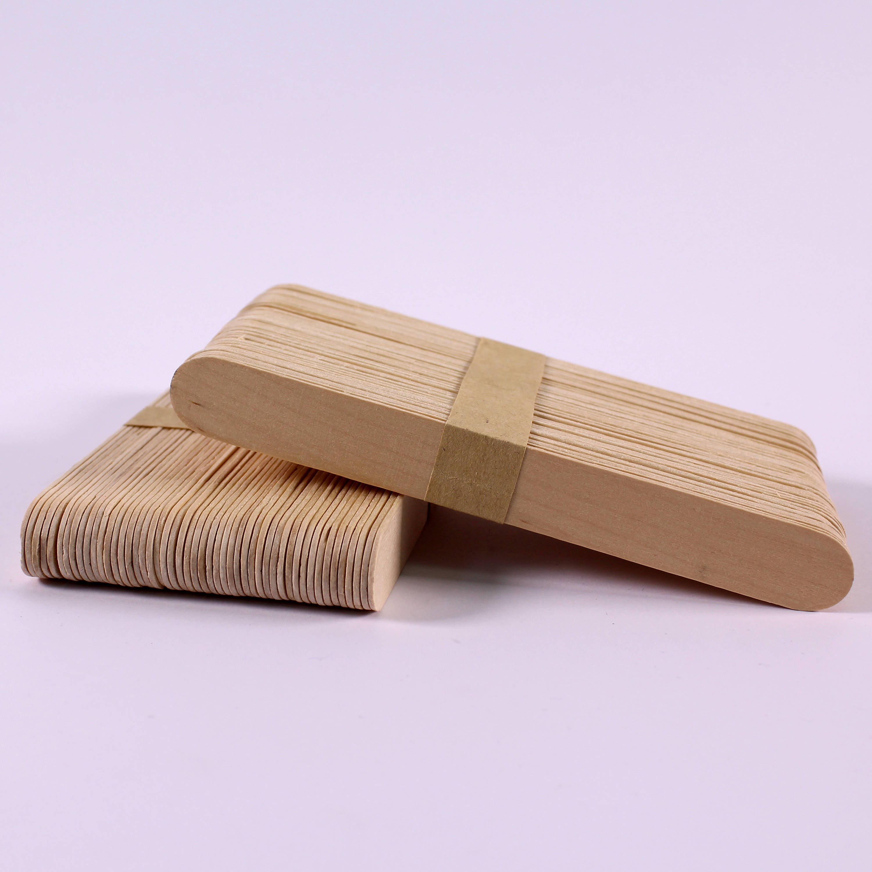 Long wooden craft sticks - Giant Plain Lolly Stick 15cm X 2cm Wooden Natural Colour Extra Long Craft Sticks For Modelling