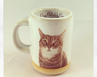 Push Push's Tabby Cat espresso cup