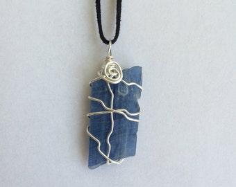 SALE // Blue Kyanite Necklace // Kyanite Crystal // Crystal Jewelry