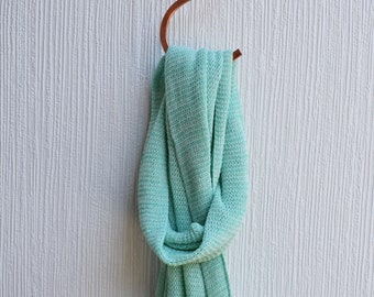 Cotton Scarf - Spearmint, green scarf, summer scarf, spring scarf