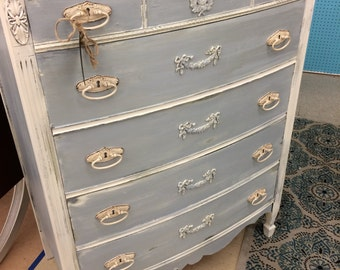 Sold**Dresser/Rustic/Distressed/Shabby,Painted Furniture,Dixie dresser