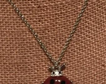 Lovely ladybug necklace
