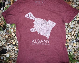 2017 Albany Has Neighborhoods Tee
