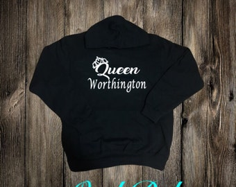 King and Queen Adult Hoodies   Her King His Queen   King and Queen Hoodies   King and Queen Shirts   King Hoodie   Queen Hoodie  