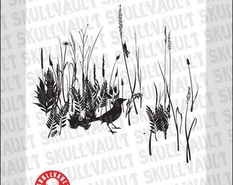 Wildflowers Vector Design
