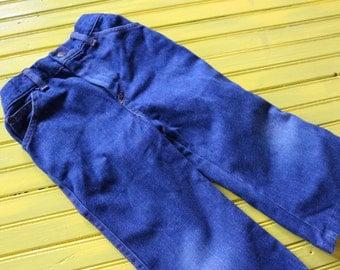 Vintage 4T BABY BOY Blue Denim Jeans by Billy The Kid, vintage boy pants 4T, 4T vintage boy, retro boy pants 4T, 4T boy vintage clothing