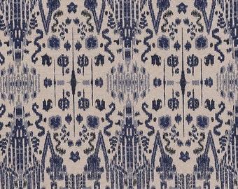 SALE!!!, Mumbai Indian Blue ,Fabric By The Yard, Lacefield Fabrics