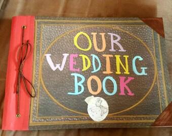Our Wedding Book, Our Adventure Book, Guest Book, Memory Book, Photo Book, Scrapbook 8-1/2 x 11