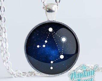 Constellation Necklace, LIBRA, astrology jewelry, gift for girl friend, gamers, crystal lovers, new age, metaphysical