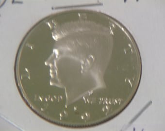 Uncirculated 1992 S Kennedy Half Dollar PR