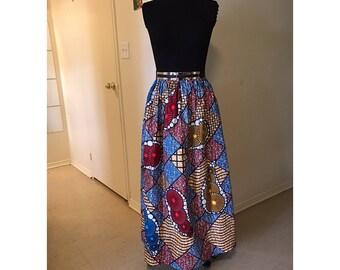 African Maxi Skirt