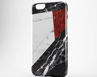 White Marble iPhone 7 Red Marble iPhone 6 Case Black Marble Galaxy Case iPhone 5S Cover iPhone 7 Plus Case iPhone 4-5 Case iPhone SE Cover