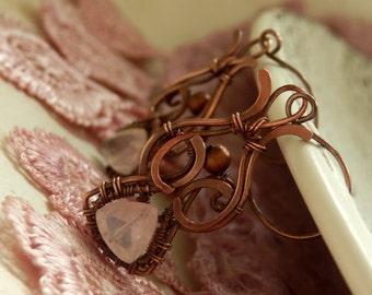 Cerriza * cherry blossom earrings