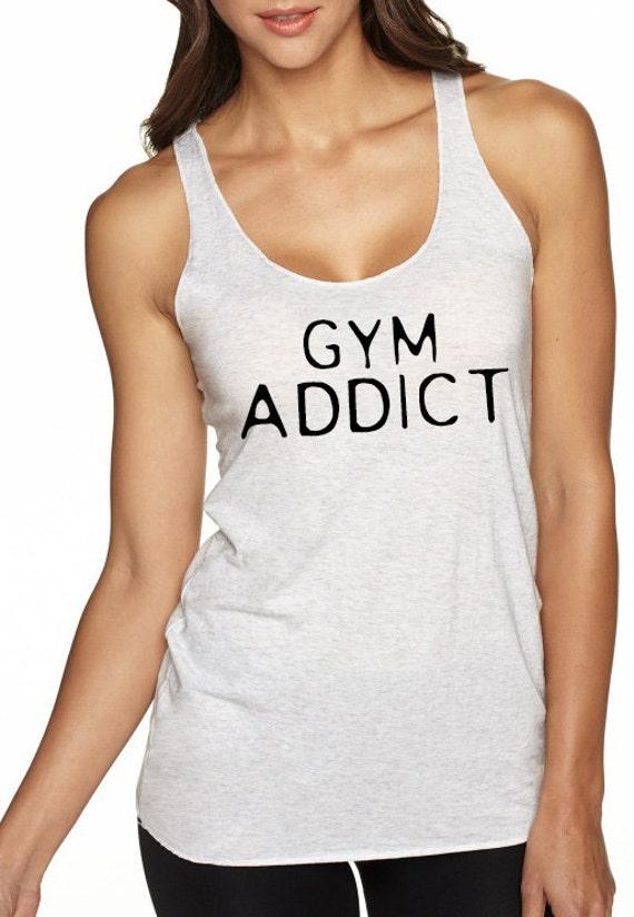 Gym Addict Racerback Tank Top