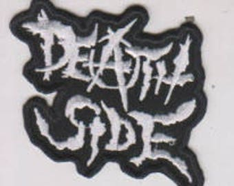 Death Side punk hardcore embroidered patch