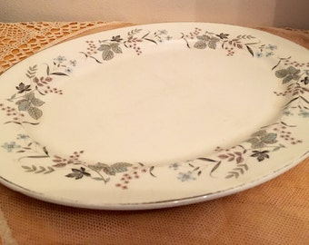 Johnson bros oval serving platter snowhite