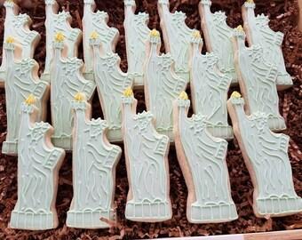 24 Statue of Liberty Cookies, New York City, Big Apple
