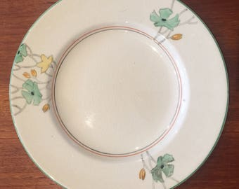 Vintage woods ivory ware dinner plate made england