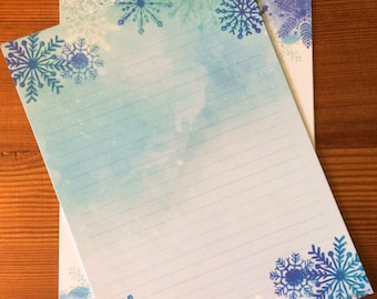 Snowflake Wonder Writing Paper-Stationery-Note Paper