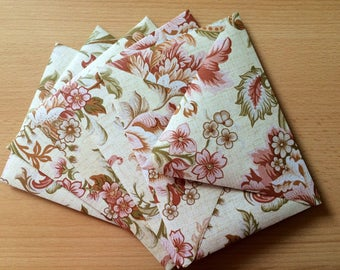 Handmade Vintage Floral Wallpaper Envelope Set