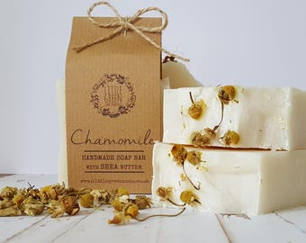 Chamomile Soap, Handmade Traditional Soap, Palm Oil Free, Ethical Skincare