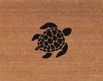 Turtle Rug Etsy